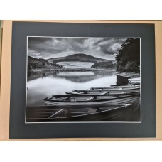 Glencorse Reservoir  16 x 12 inch print with mount