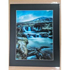 Near Glenshee at Cairngorms  16 x 12 inch print with mount