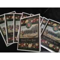 Bundle of 5 or 10 cards and envelopes  Argyll and Sutherland Highlanders Christmas cards
