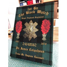 Black Watch Personal 16 x 12 canvas