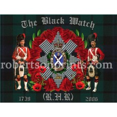 Black Watch Wreath and Soldiers