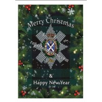 Bundle of 5 or 10 cards and envelopes  The Black Watch Christmas cards