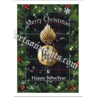 Bundle of 5 or 10 cards and envelopes  Royal Highland Fusiliers Christmas cards