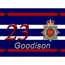 Royal Corps of Transport door number 8 x 6 inch