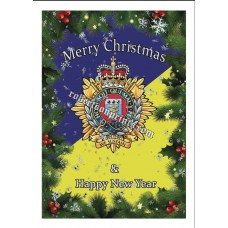 Bundle of 5 or 10 cards and envelopes  Royal Logistic Corps Christmas cards